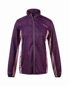 Hidda W Running Jacket Deep Purple