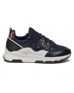 Sportiga Chunky Sneakers Blå