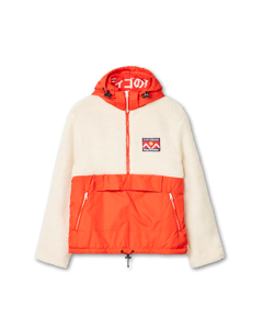 Kazan Red Off White Sherpa