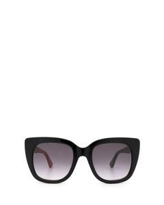 Gg0163s Black Solglasögon