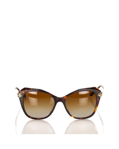 Bvlgari Square Tinted Sunglasses Brown