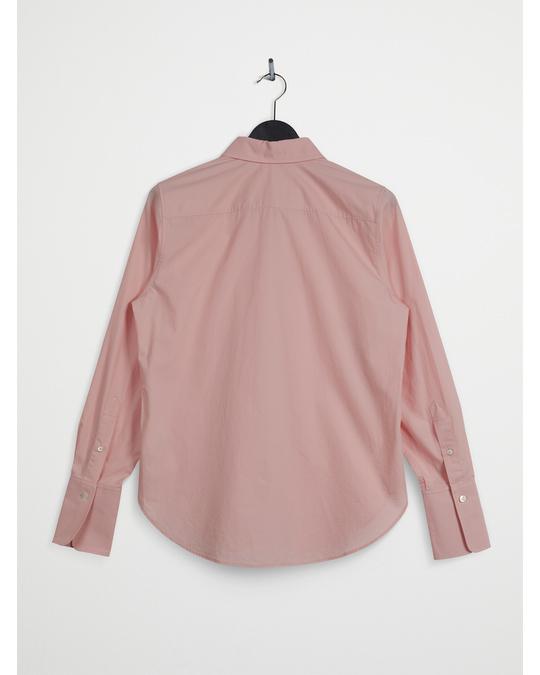 Arket Slim Poplin Shirt Light Pink