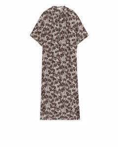 Kaftan Dress Brown/floral