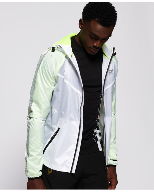 Superdry Active Featherweight Jacket White