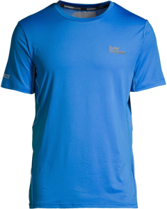 Active Camo Jacquard Tee Electric Blue
