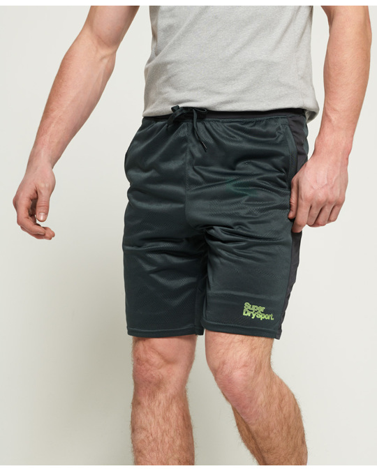 Superdry Active Camo Jacquard Short Cool Olive
