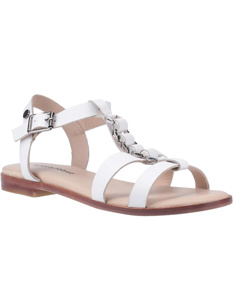 Hush Puppies Womens/ladies Lucia T-bar Buckle Leather Sandal