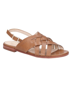 Hush Puppies Womens/ladies Riley Buckle Leather Strap Sandal