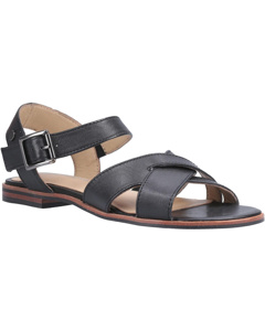 Hush Puppies Womens/ladies Lila Buckle Leather Sandal