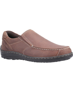 Hush Puppies Mens Thomas Leather Loafer