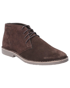 Hush Puppies Mens Freddie Lace Up Leather Shoe Boots