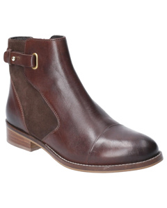 Hush Puppies Womens/ladies Hollie Zip Up Leather Ankle Boot