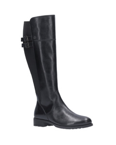 Hush Puppies Womens/ladies Arla High Leather Boots