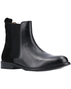 Hush Puppies Womens/ladies Chloe Slip On Leather Ankle Boot