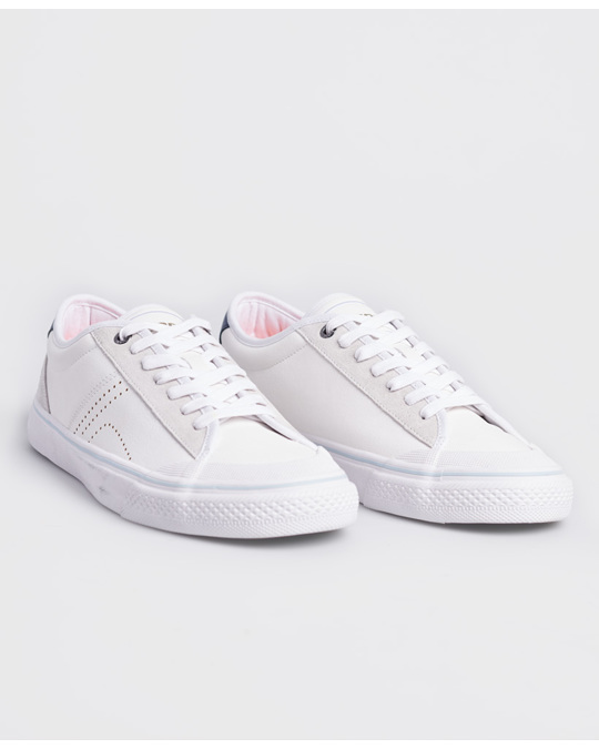 Superdry Skate Classic Low White