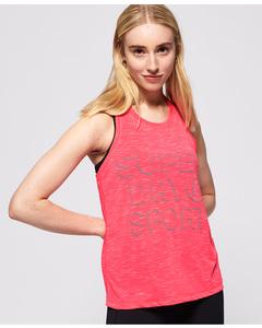 Core Loose Vest Fusion Pink