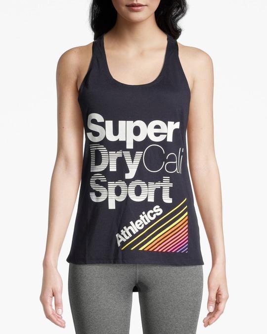 Superdry Cali Girl Vest Navy