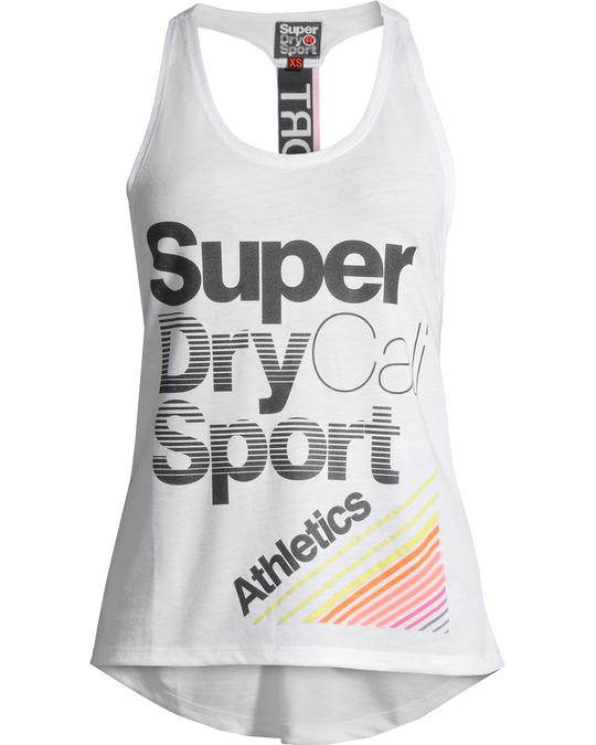 Superdry Cali Girl Vest Optic