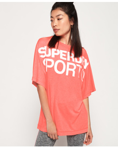 Active Loose Bf Tee Pastel Coral