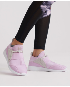 Superdry Superlite Elastic Runner Orchid/optic White