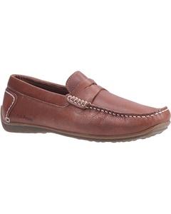 Hush Puppies Mens Roscoe Slip On Leather Shoe