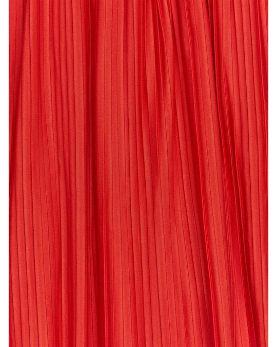 Arket Plissierter Rock Rot