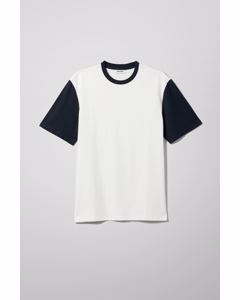 Andre Blocked T-shirt Blue