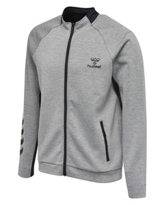 Hmlguy Zip Jacket Grey Melange