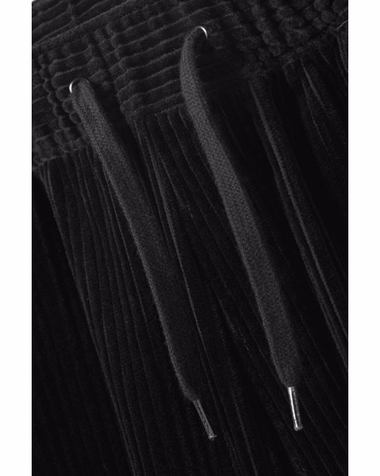 Weekday Bravo Cord Shorts Black