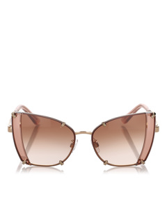 Dolce&gabbana Butterfly Tinted Sunglasses Brown