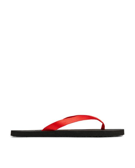 Arket Flip Flops Red