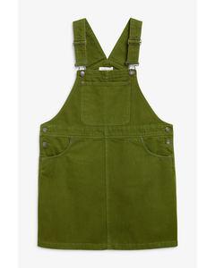Daria Dress Denim Green