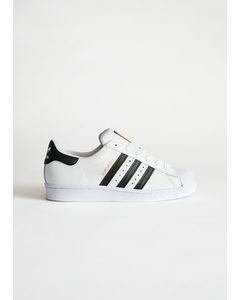 adidas Superstar Weiß/Schwarze Streifen