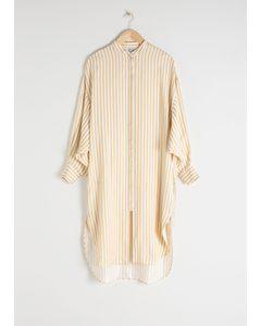 Striped Button Up Kaftan Stripe