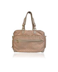 Louis Vuitton Pink Monogram Mini Lin Sac A Langer Diaper Bag
