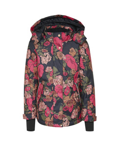 Hmlrose Skijacket Multi Colour Pink