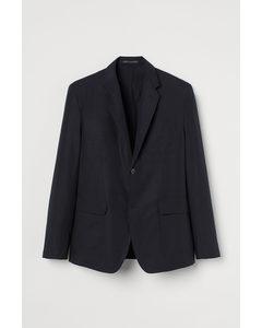 Regular Fit Jacket Dark Blue