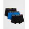 Jacwater Trunks 3 Pack Black-black