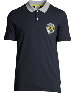 Jcolink Polo Ss Ka Sky Captain-dark Blue
