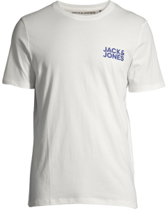 Jjecorp Logo Tee Ss O-neck  Noos Cloud Dancer-white
