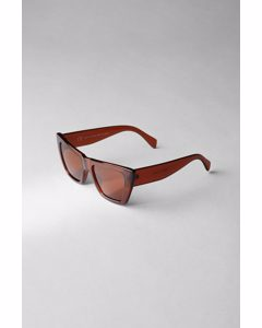The Sail Cateye Sunglasses Orange