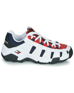 Tommy Hilfiger Heritage Chunky Sneaker Rwb Wit