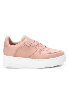 Microfiber Ladies Sneakers Pink