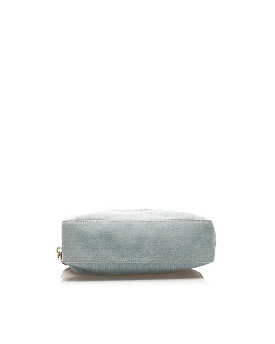 Gucci Gucci Soho Denim Shoulder Bag Blue