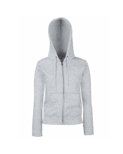 Fruit Of The Loom Ladies Lady-fit Hooded Sweatshirt Jacket