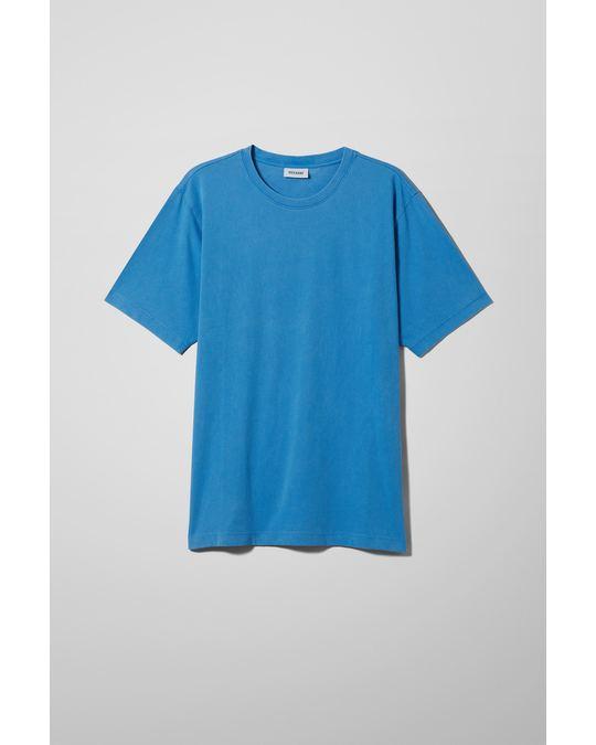 Weekday Frank Washed T-shirt Blue