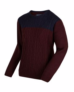 Regatta - Heren Koby Sweater Met Gebreide Kabels