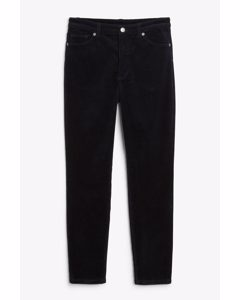 Corduroy Trousers Midnight Blue