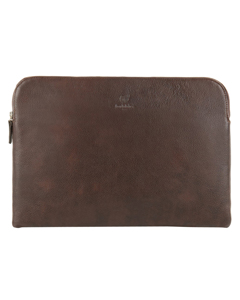 Oslo Grained Leather Computer Pouch Oslo