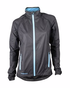 Hp Jacket Women Black/light Blue